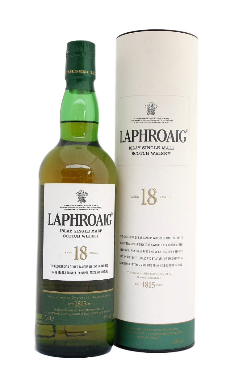 Laphroaig Aged 18 Years Limited Release Islay Single Malt Scotch Whisky (700ml)